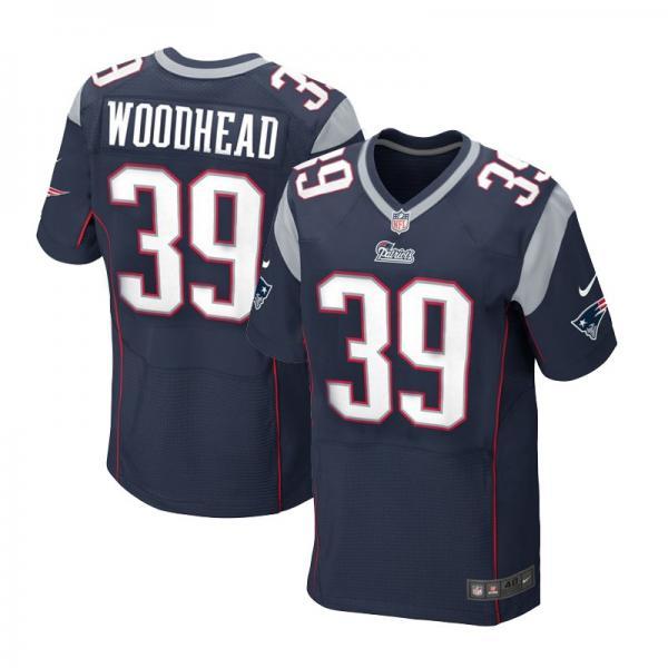 [Elite]Danny Woodhead New England Football Team Jersey(Blue)_ ...
