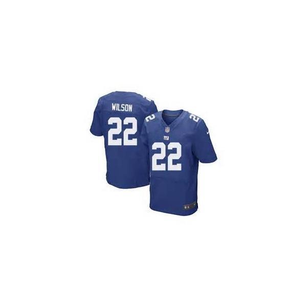 [Elite]David Wilson New York Football Team Jersey(Blue)_Free ...