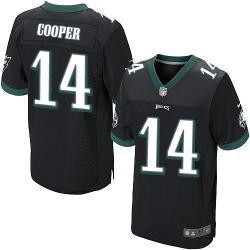 4de5f6ddc13 [Elite] Cooper Philadelphia Football Team Jersey -Philadelphia #14 Riley  Cooper Jersey (