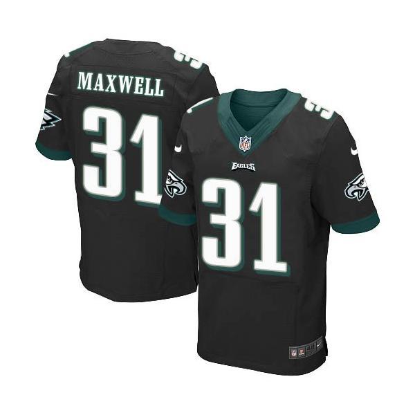 [Elite]Byron Maxwell Philadelphia Football Team Jersey(Black)_ ...