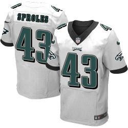 Elite]Darren Sproles Philadelphia Football Team Jersey(White)_Free ...