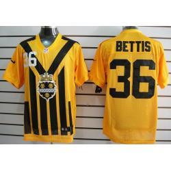 36c9179c04f  Elite  Bettis Pittsburgh Football Team Jersey -Pittsburgh  36 Jerome  Bettis Jersey (