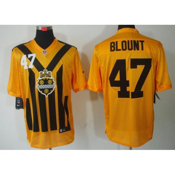 Elite  Blount Pittsburgh Football Team Jersey -Pittsburgh  47 Mel Blount  Jersey ( 2bf9c0281cc6