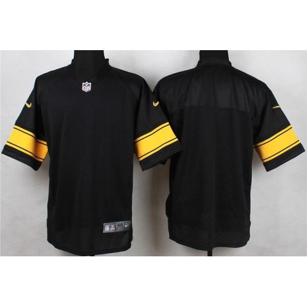 blank black football jersey