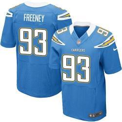 Elite]Dwight Freeney San Diego Football Team Jersey(Light Blue)_ ...