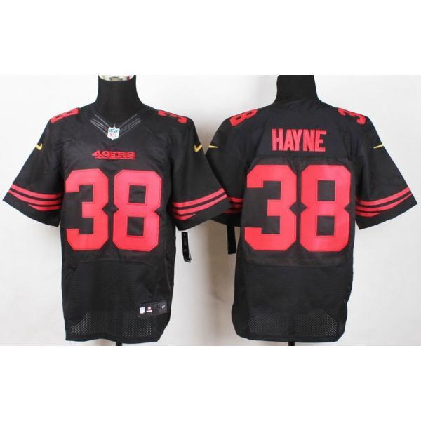 [Elite]Jarryd Hayne San Francisco Football Team Jersey(Black)_ ...