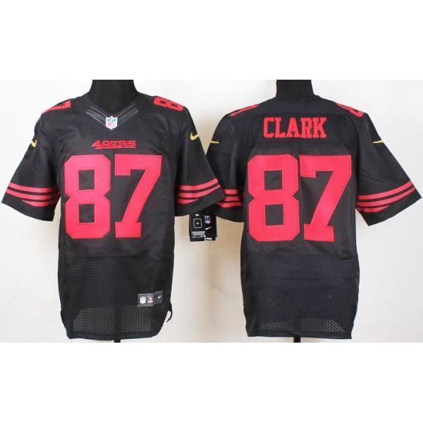 6b89521f2cc  Elite  Clark San Francisco Football Team Jersey -San Francisco  87 Dwight  Clark