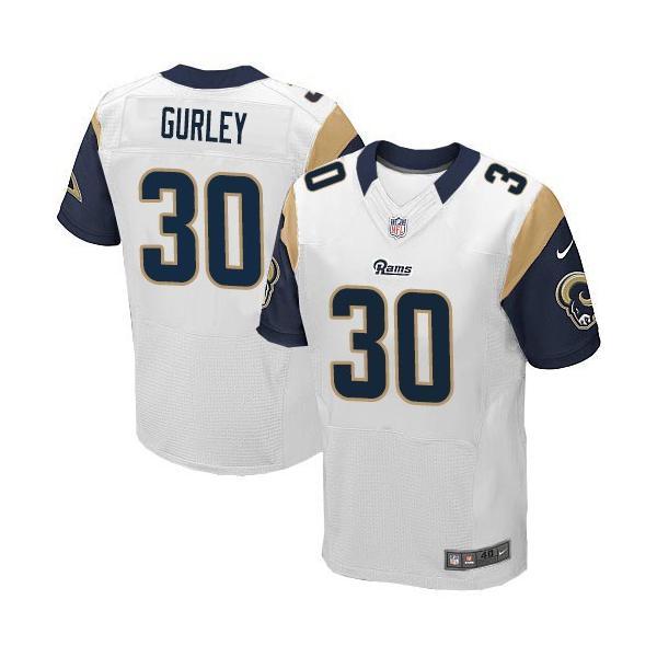 half off cd879 ec67b [Elite]Todd Gurley St. Louis Football Team Jersey(White)_Free Shipping