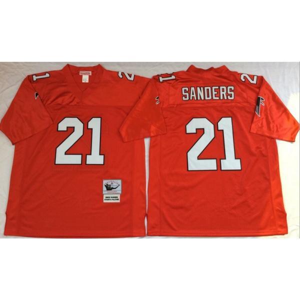 finest selection 2fd6f 3276b Deion Sanders Atlanta Football Jersey Atlanta #21 Football Jersey