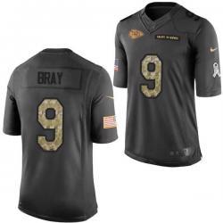 buy popular 8c59f cf524 [Mens/Womens/Youth]Bray Kansas City Football Team Jerseys -Kansas City #9  Tyler Bray Salute To Service Jersey
