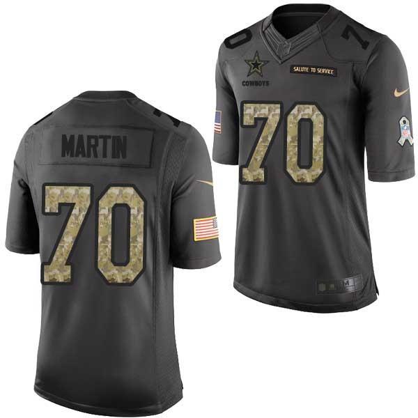 on sale 2e3a8 3425b ZACK MARTIN Dallas Salute to Service Football Jersey FREE SHIPPING