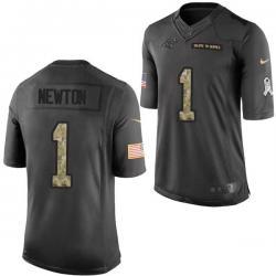 competitive price 80666 5d561 [Mens/Womens/Youth]Newton Carolina Football Team Jerseys -Carolina #1 Cam  Newton Salute To Service Jersey