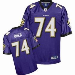 Michael Oher Baltimore Football Jersey Baltimore #74 Football Jersey