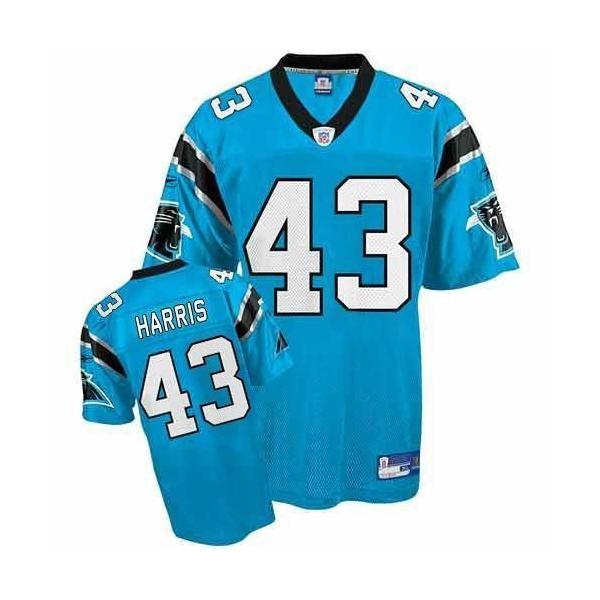 Chris Harris Carolina Football Jersey - Carolina  43 Football Jersey(Blue) e861c1fb7ecd