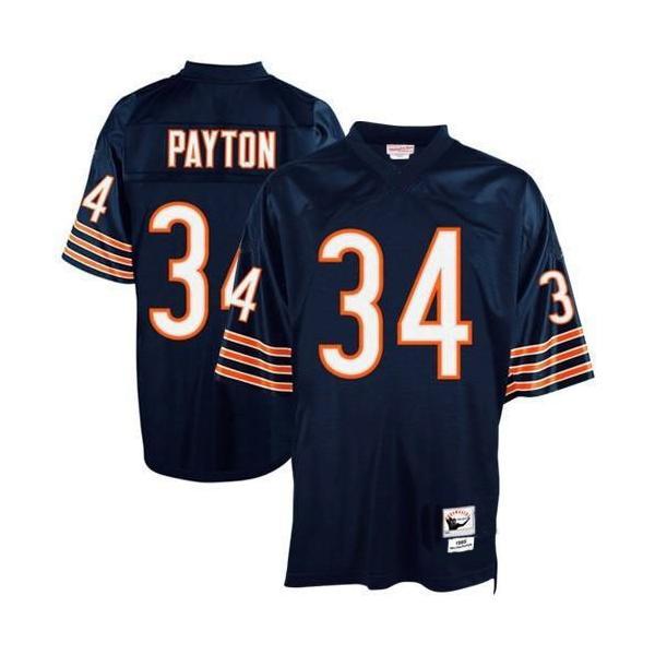 big sale c4282 5e06c Walter Payton Chicago Football Jersey Chicago #34 Football Jersey