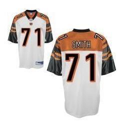 buy online a887d f0293 Andre Smith Cincinnati Football Jersey - Cincinnati #71 Football  Jersey(White)
