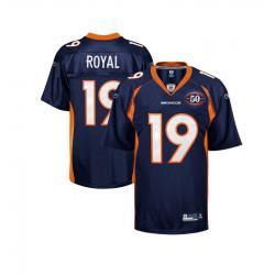 Eddie Royal Denver Football Jersey Denver #19 Football Jersey