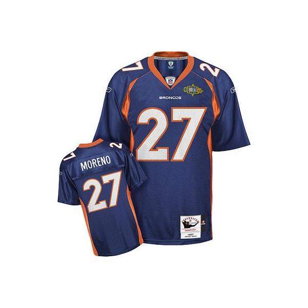 Knowshon Moreno Denver Football Jersey Denver #27 Football ...