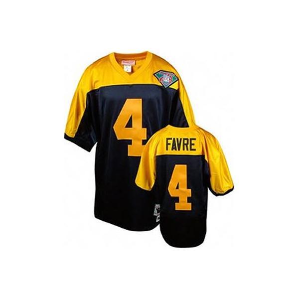 promo code c3ba5 763dd Brett Favre Green Bay Football Jersey Green Bay #4 Football Jersey