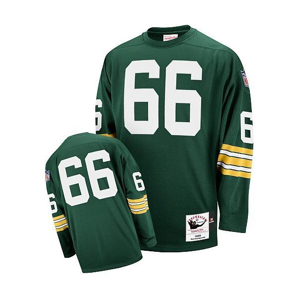 40e162dc7 Ray Nitschke Green Bay Football Jersey - Green Bay  66 Football Jersey(Green  Throwback