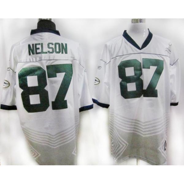 Jordy Nelson Green Bay Football Jersey - Green Bay  87 Football Jersey(White  Champions 0122598f1