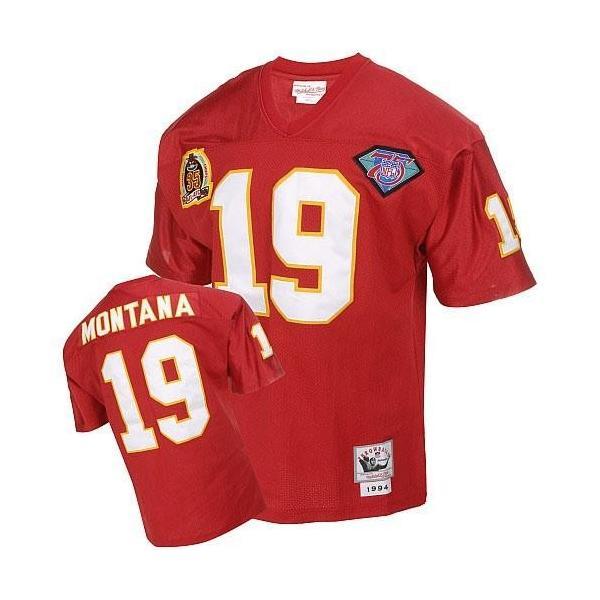 classic fit 11e4f 0043b buy joe montana jersey