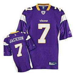 Tarvaris Jackson Minnesota Football Jersey Minnesota #7 Football ...