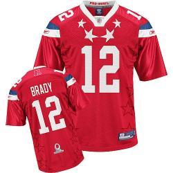 release date: 97d9a a94d6 Tom Brady New England Football Jersey - New England #12 Football  Jersey(2011 Pro Bowl)