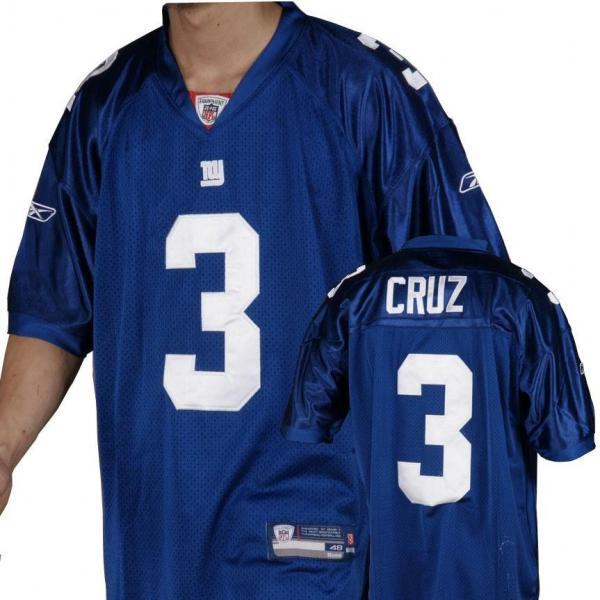 Victor Cruz NY-G Football Jersey