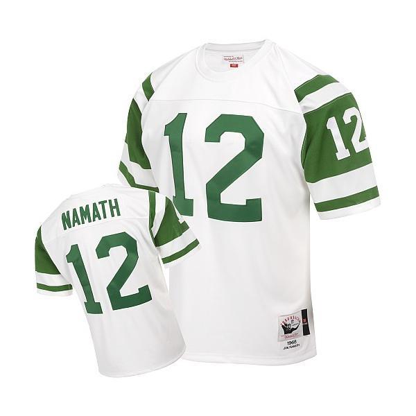 new style b37a7 ce65b Joe Namath NY-J Football Jersey NY-J #12 Football Jersey