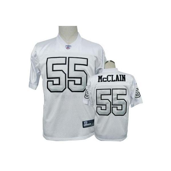 Rolando McClain Oakland Football Jersey Oakland #55 Football ...
