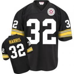 005e80db956 Franco Harris Pittsburgh Football Jersey - Pittsburgh  32 Football Jersey(Black  Throwback)
