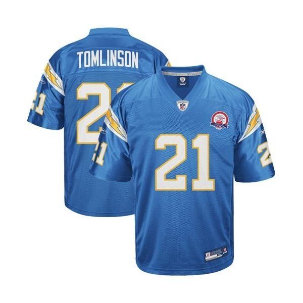 LaDainian Tomlinson San Diego Football Jersey San Diego #21 ...