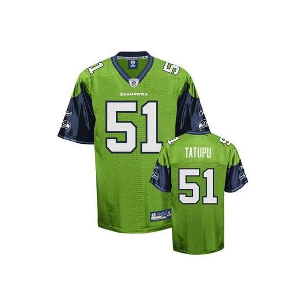 Lofa Tatupu Seattle Football Jersey - Seattle  51 Football Jersey(Green) e4b008fad