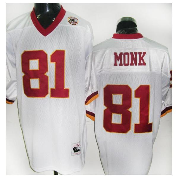 Art Monk Washington Football Jersey Washington #81 Football Jersey