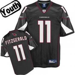 the best attitude 74f2c 052fb Larry Fitzgerald Youth Football Jersey -#11 Arizona Youth Jersey(Black)