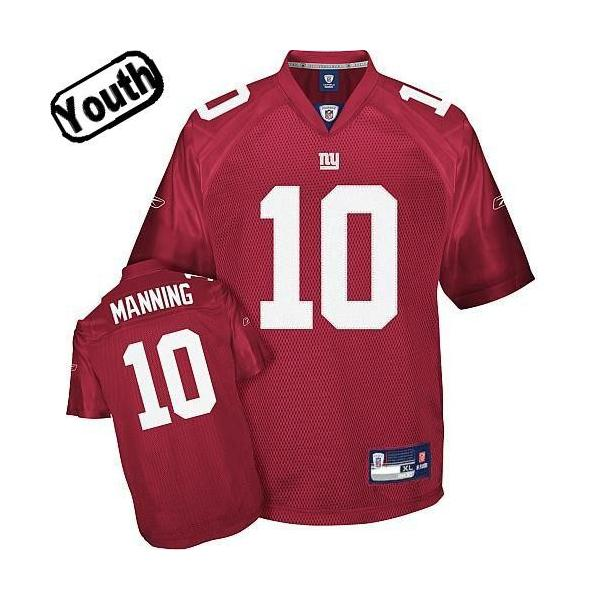 Eli Manning Youth Football Jersey -#10