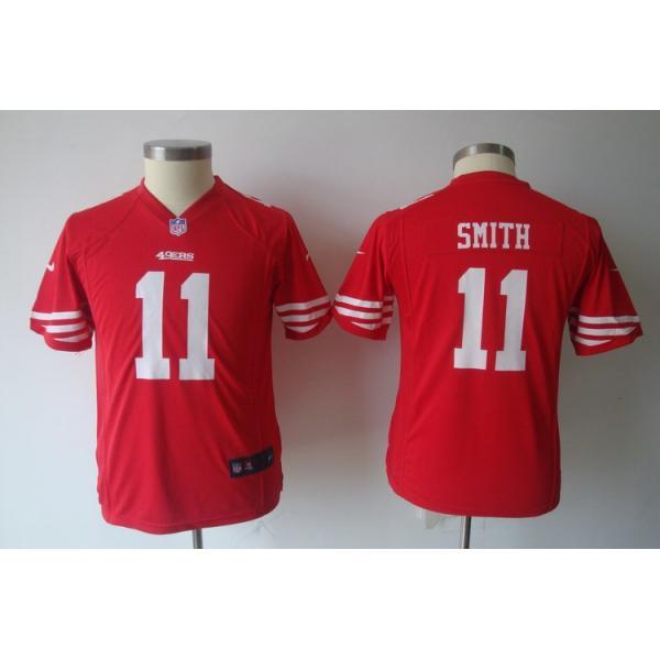 alex smith youth jersey