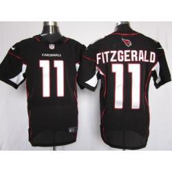 timeless design 2d5ad 01655 [Elite] Larry Fitzgerald Football Jersey -Arizona #11 Football Jersey(Black)