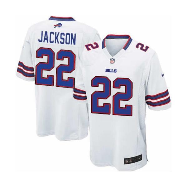 [Game]Buffalo #22 Fred Jackson Football Jersey(White)