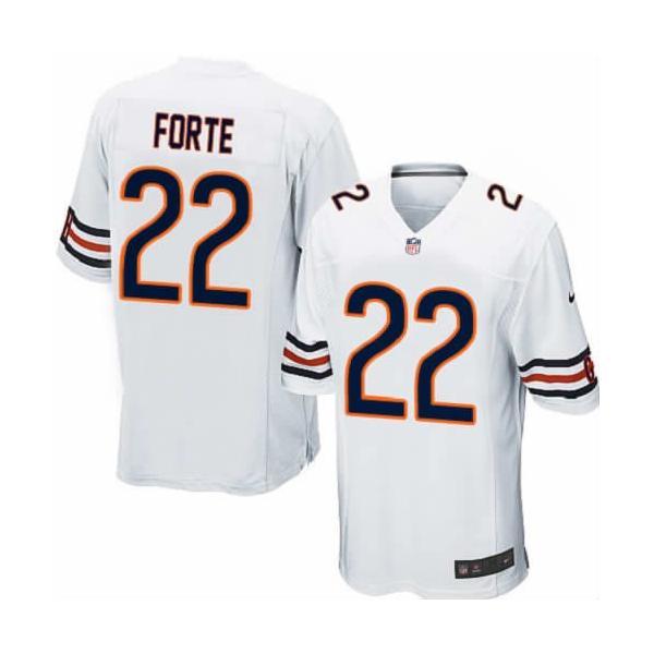 [Game]Chicago #22 Matt Forte Football Jersey(White)