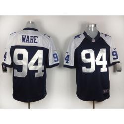 super popular d518d a08b2 [game] DeMarcus Ware Football Jersey -Dallas #94 Football Jerseys(Blue  Thanksgiving)