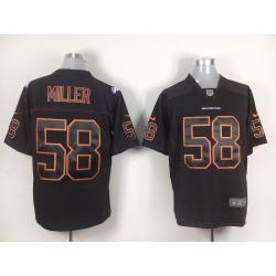 online store b3ce5 f3c1d [game] Von Miller Football Jersey -Denver #58 Football Jerseys(Black)