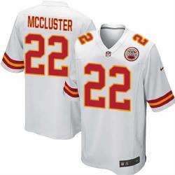 Game]KC #22 Dexter McCluster Football Jersey(White)