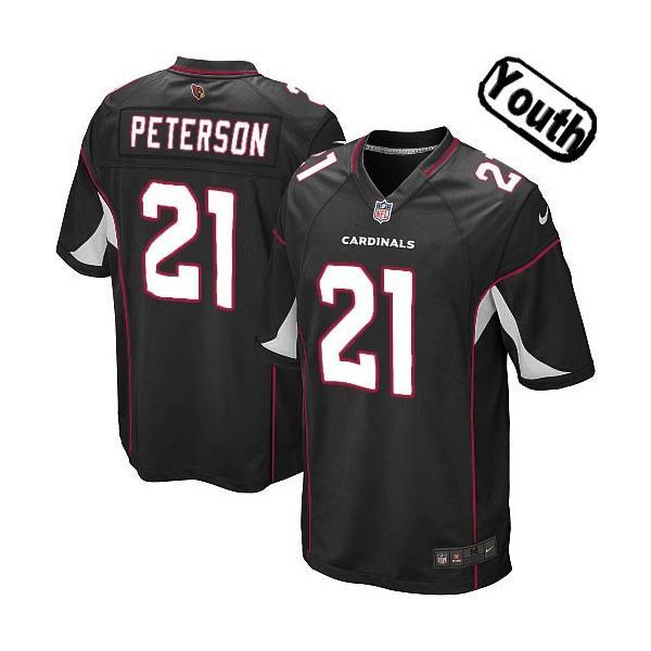 [Sewn-on,Youth]Patrick Peterson Arizona Youth Football Jersey(Black)