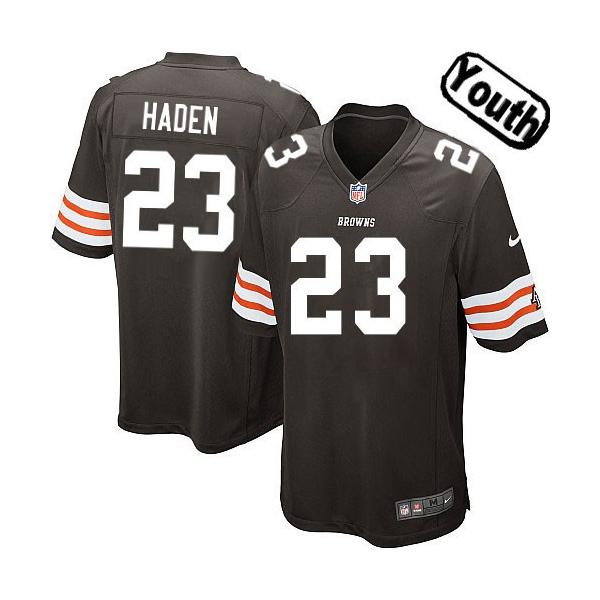 joe haden youth jersey