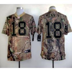 Peyton Manning Denver camo football jersey