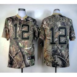 Aaron Rodgers Green Bay camo football jersey