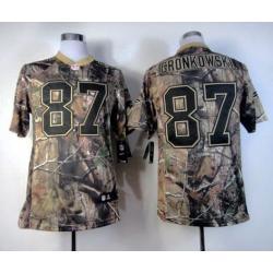 Rob Gronkowski New England camo football jersey