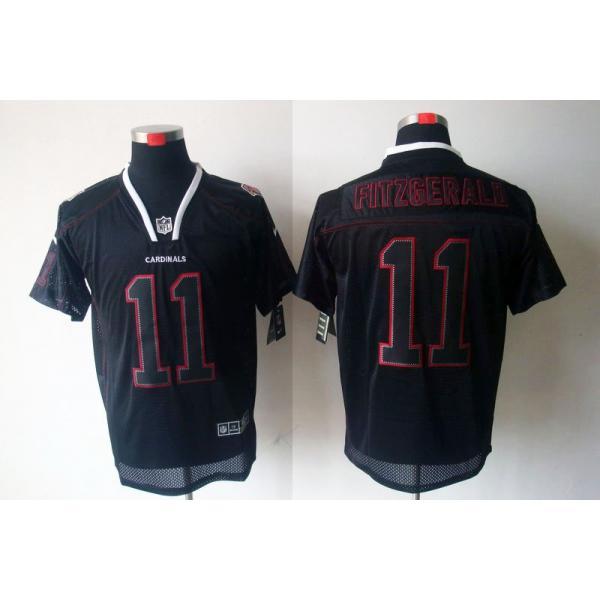 purchase cheap 9b652 9d1d9 Arizona #11 Larry Fitzgerald Football Jersey Lights-Out